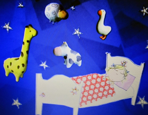 Every day you see a cow on Charlie and Lola!