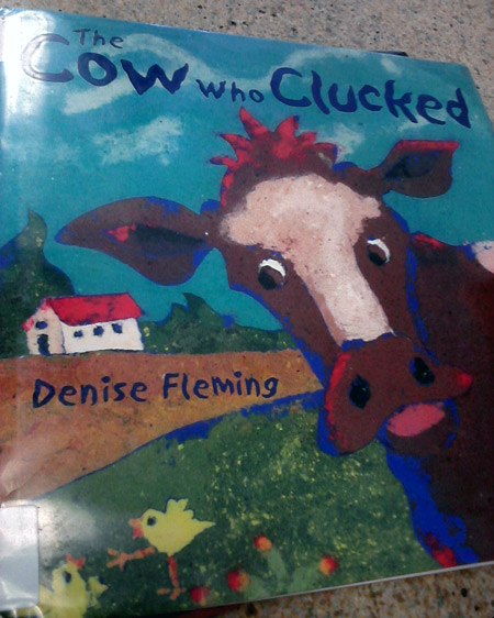 The cow who clucked book