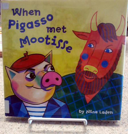 Pigasso and Mootisse - an artsy cow and pig book