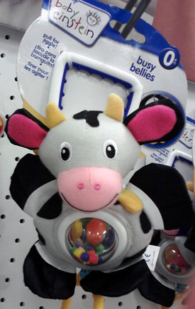 Baby Einstein cow toy