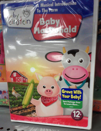 Baby Einstein Baby Mc Donald - a day at the farm DVD