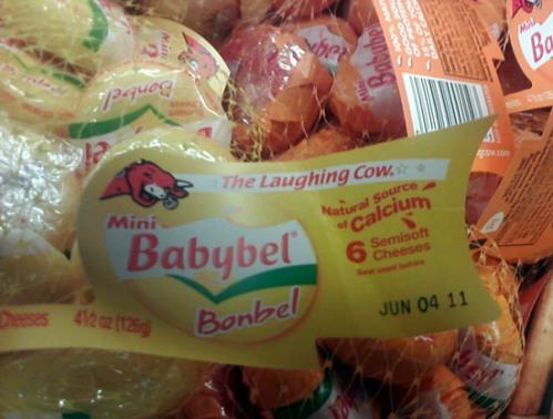 Babybel Bonbel cheese - fromage Babybel
