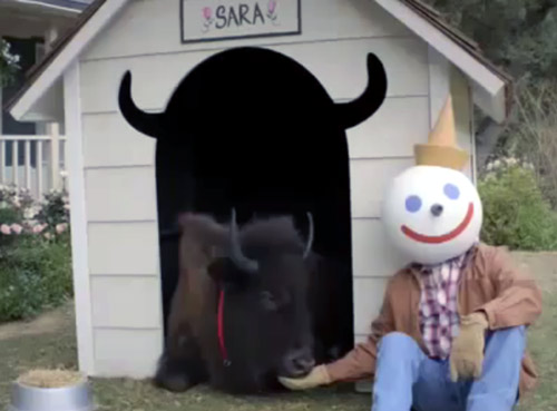 Jack in the box commercial I love Americana 2011 Super Bowl