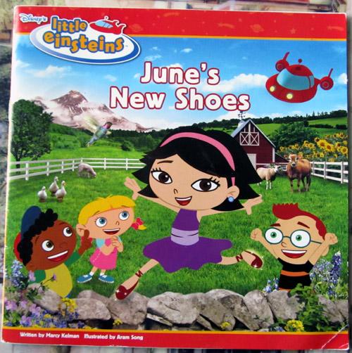 Disney Little Einsteins June's shoes book