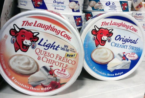 The laughing cow cheese - fromage la vache qui rit