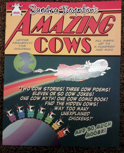 Sandra Boynton - Amazing Cows book