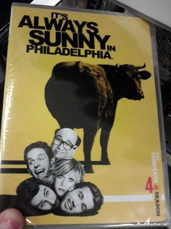 It's always sunny in Philadelphia - Season 4 DVD