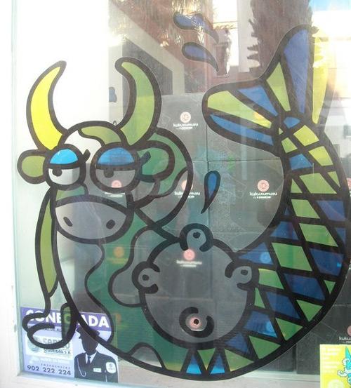 A mermaid cow or a cow mermaid?