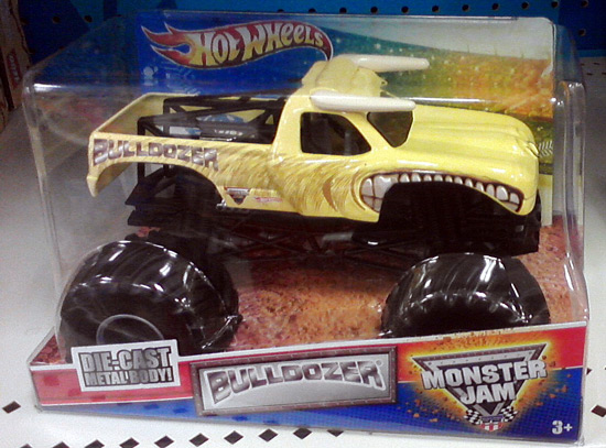 Monster truck with a bull theme