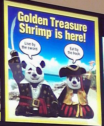 Panda pirates at Panda Express