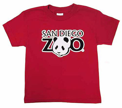 San Diego Zoo panda T-shirt