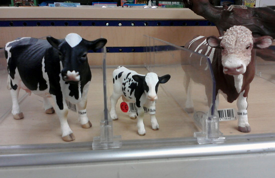 Schleich cows - family