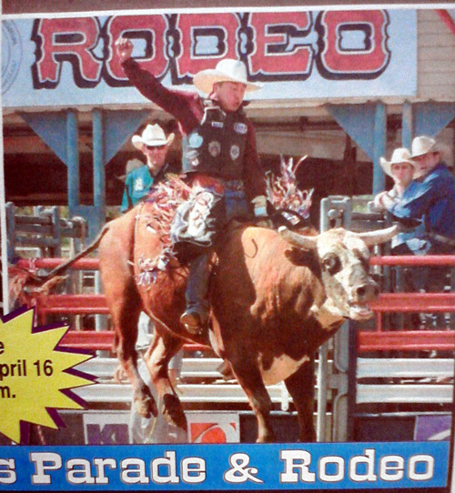 Lakeside Rodeo - bull riding