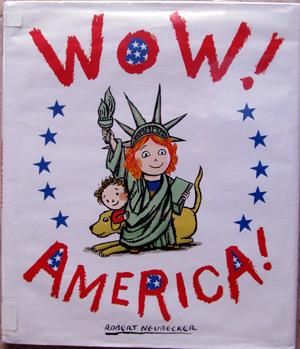 Wow! America! book by Robert Neubecker