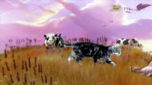 Cows in Friskies cat food commercial - Adventureland