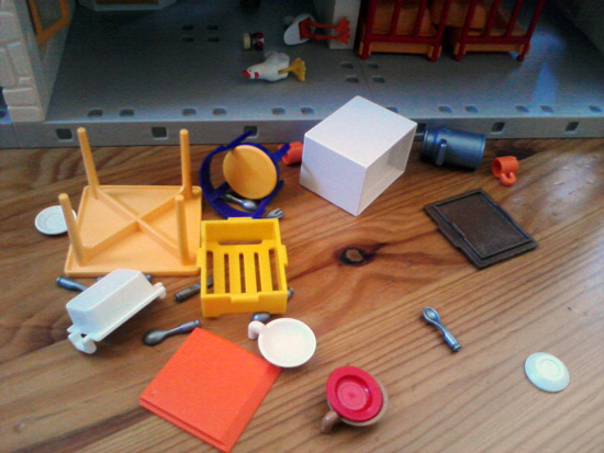 Playmobil farm house