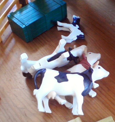 Playmobil farm - dairy cows