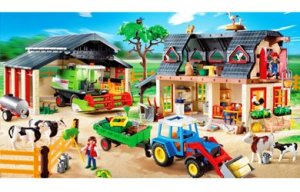 Playmobil farm value set