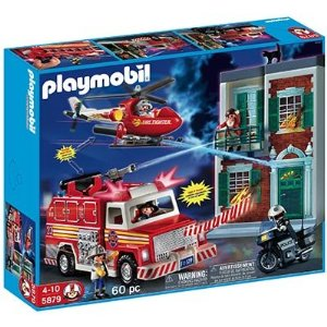 Playmobil Fire Rescue value set