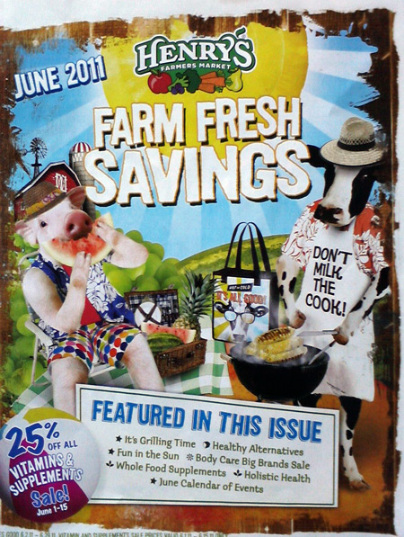 Henry's Marketplace June 2011 flyer