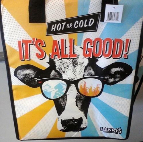 Henry's Marketplace new cooler bag