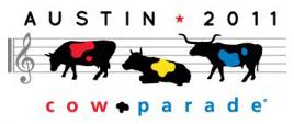 Cow Parade Austin 2011