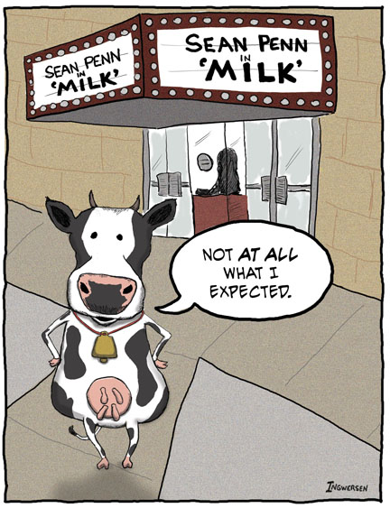 Funny cow cartoon - milk movie