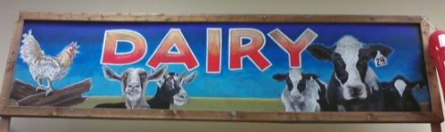 Dairy cows at Trader Joe's