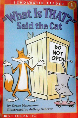 """What is that"""" said the cat book"""