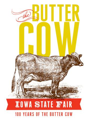 100 years of the butter cow at the Iowa State Fair