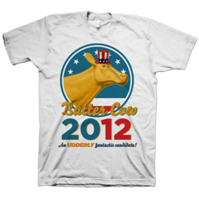 Butter Cow for president T-shirt
