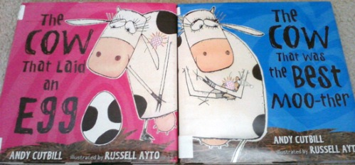 Any Cuthill's The cow that laid an egg and The cow that was the best moo-ther