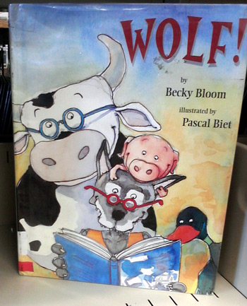 Wolf book by Becky Bloom