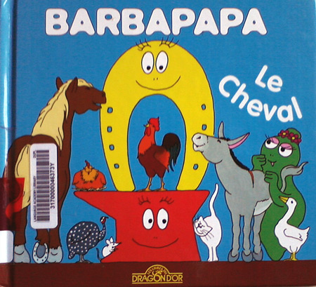 Barbapapa book - le cheval