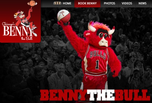 Benny the bull - Chicago Bulls mascot