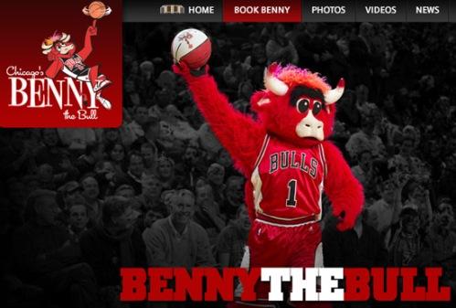 Benny the bull - Chicago Bulls mascot
