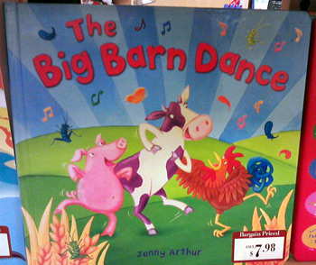 Another book with cows at Barnes & Noble