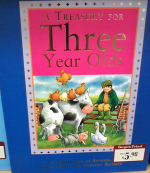 Book with cows at Barnes & Noble