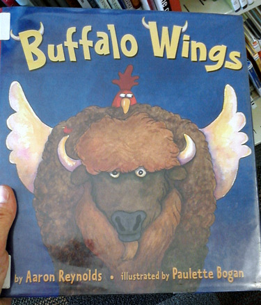 Buffalo Wings book by Aaron Reynolds