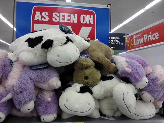 Pillow Pets cow at Walmart