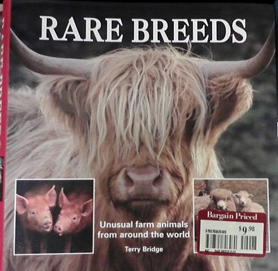 Rare breeds book