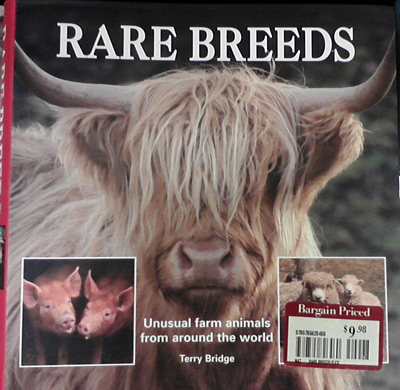 Rare breeds book