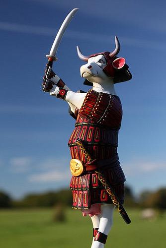 Sam-Moo-Rai the cow - Cow Parade
