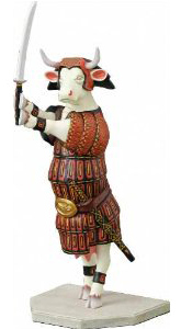 Cow Parade - Sam-Moo-Rai figurine
