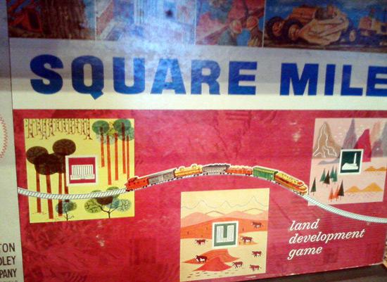 Square Mile board game