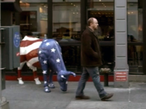Captain America Cow on FX's Louie