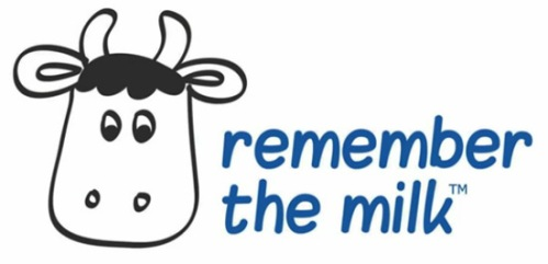 Remember the milk application and software