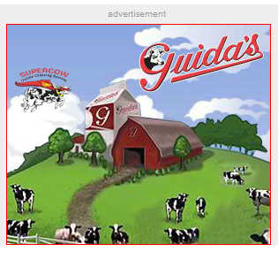 Guida's supercow ad