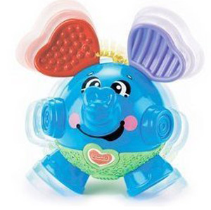 Fisher Price bounce & giggle elephant baby toy