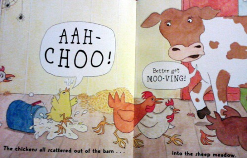The last cow in the Chicken Soup children's book